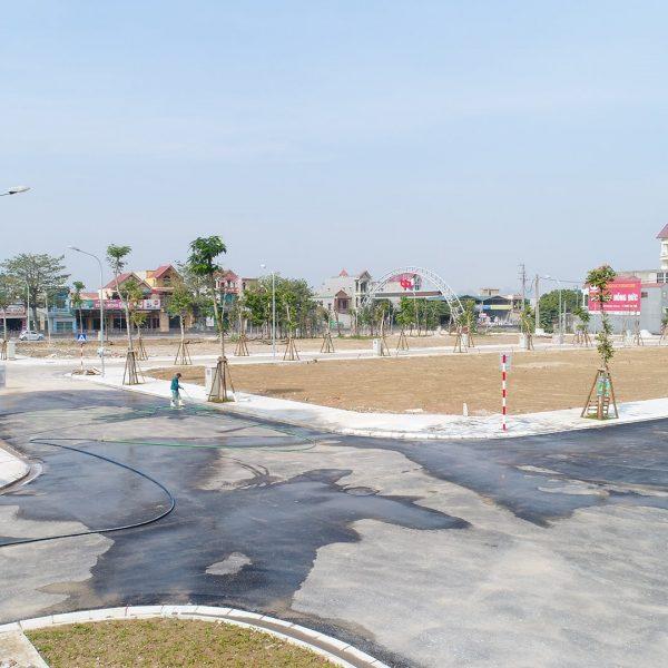 Ảnh thực tế dự án Green Park Hải Hà - Quảng Tân 4