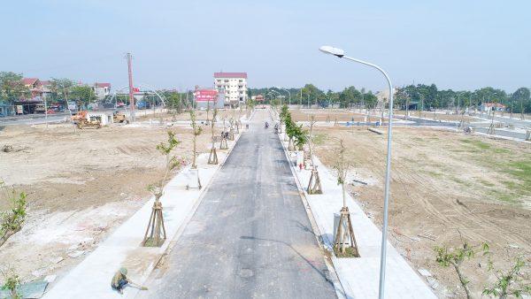 Ảnh thực tế dự án Green Park Hải Hà - Quảng Tân 2