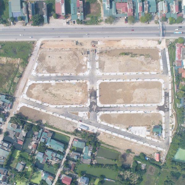 Ảnh thực tế dự án Green Park Hải Hà - Quảng Tân 5