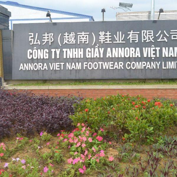 Nhà máy giày Annora (30.000 công nhân)