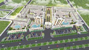 Phối cảnh dự án trung tâm thương mại phố Eden (Paris Elysor)