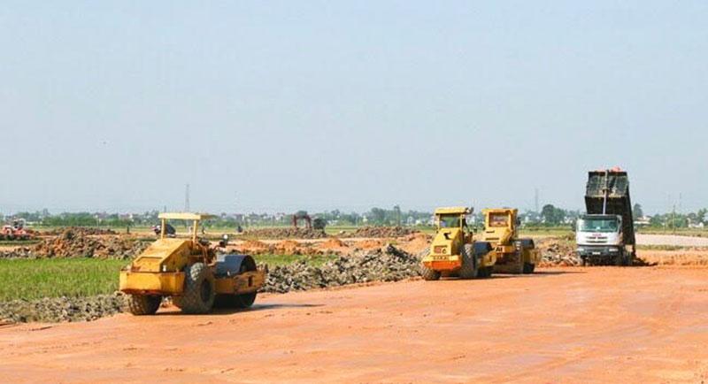 Khu tái định cư tại huyện Đông Sơn được đầu tư xây dựng để phục vụ công tác GPBM tuyến cao tốc Bắc Nam