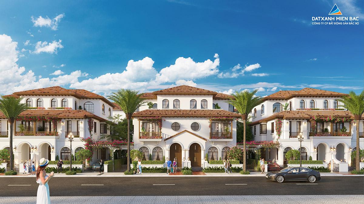 Thiết kế dự án Sun Riverside Village Tân thuộc địa Tây Ban Nha